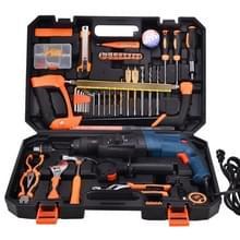 STT-058B multifunctionele huishoudelijke 58-delige elektrische Hamerboor (1300W) Toolbox set