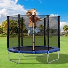 [EU Warehouse] 8FT Outdoor Garden Trampoline Stuiterend Bed met Veiligheidshek > Gewatteerde Bars
