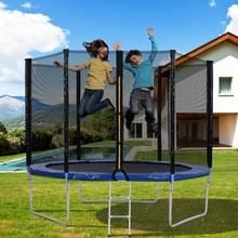 [EU Warehouse] 10FT Outdoor Garden Trampoline Stuiterend Bed met Veiligheidshek & Gewatteerde Bars