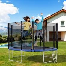 [EU Warehouse] 12FT Outdoor Garden Trampoline Stuiterend Bed met Veiligheidshek > Gewatteerde Bars