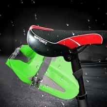 Outdoor waterdichte multi-functionele PVC tas tool tas voor fiets (groen)