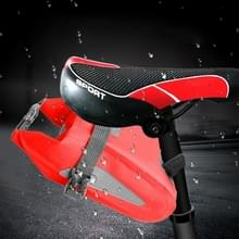 Outdoor waterdichte multi-functionele PVC tas tool tas voor fiets (rood)