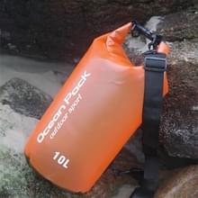 Buiten waterdichte droge tas Dry Sack PVC Barrel tas  totale geheugencapaciteit: 2L (oranje)