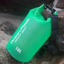 Outdoor waterdichte droge zak droge zak PVC vat tas  capaciteit: 2L (groen)