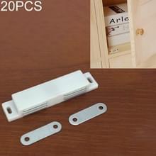 20 stuks kunststof sterke magnetische kast deur zuig kast boekenkast woonaccessoires  maat: L