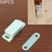 50 stuks kunststof sterke magnetische kast deur zuig kast boekenkast woonaccessoires  maat: S