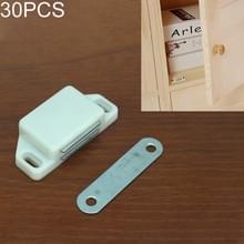 30 stuks kunststof sterke magnetische kast deur zuig kast boekenkast woonaccessoires  maat: M