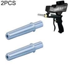 2 stks LEMATEC zand Blast Machine nozzle voor AS118 zandstraal machine