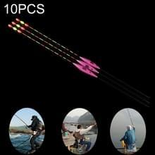 10ST jacht vis Refill opvallende staart 1 # Fishing float nano floater Bobber