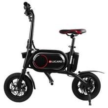 [EU-opslagplaats] CS-P01 350W opvouwbare dual-disc 12 inch 36V Mini draagbare elektrische fiets  max snelheid: 25km/h