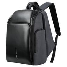 Bopai 851-010128 Business anti-diefstal waterdichte grote capaciteit dubbele schoudertas  met USB opladen poort  grootte: 34x19x43cm (zwart)
