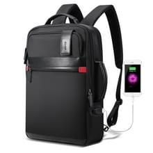 Bopai 751-003151 grote capaciteit anti-diefstal waterdichte rugzak laptop Tablet tas voor 15 6 inch en lager  externe USB opladen poort (zwart)