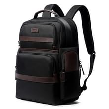 Bopai 751-007301 Business anti-diefstal waterdichte grote capaciteit dubbele schoudertas  met USB opladen poort  grootte: 28x19x42cm (zwart)