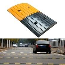 Strip Twee-in-één rubberen verkeersdrempel  grootte: 50x30x5cm