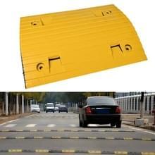 Strip Twee-in-één Engineering Rubber Verkeersdrempel  Grootte: 50x35x5cm