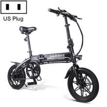 [Amerikaans pakhuis] YINYU14 Standaard 14 inch 250W OEM Proces 36V Lithium batterij vouwen elektrische fiets (Zwart)