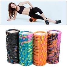 Hoge dichtheid Yoga Pilates Fitness Foam Roller  willekeurige kleur levering