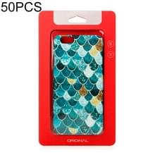 50 PCS hoge kwaliteit Cellphone geval Kraft papier pakket box voor iPhone (4 7 inch) beschikbaar grootte: 148mm x 78mm x 7mm (rood)