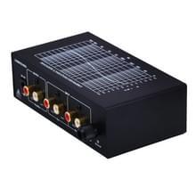 B855 LINEPAUDIO telefoon Prephonograph signaalversterker met Auxiliary ingang en volumeregeling (zwart)