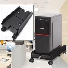 Mainframe computer Host verstelbare beugel met wiel  maat: S(Black)