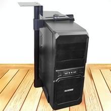 Universele PC Case houder CPU Stand opknoping verstelbare Computer Mainframe Host beugel  100-430mm hoogte verstelbaar  135-230mm breedte Adjustable(Black)