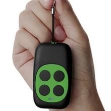 Kleurrijke vier-sleutel kopiëren externe garage deur poort draadloze afstandsbediening 433MHZ Kopieer sleutel klonen duplicator (groen)
