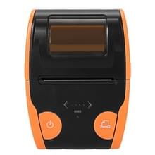 QS-5806 draagbare 58mm Bluetooth ontvangst POS Thermische Printer(Orange)