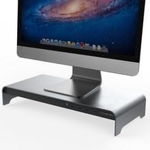 Vaydeer Desktop PC Display verhogen plank opslagrek met 4 USB-poort