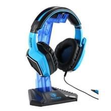 SADES Universal Multi-function Gaming Headphone Hanger Desk Headset Stand Holder Display Rack(Blue)