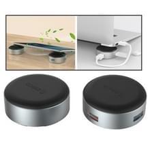 2 stuks/Set ORICO ANS1 draagbare aluminiumlegering 3 ports USB 3.0 Hub Laptop Stand houder met 20cm USB-kabel