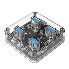 ORICO MH4U-100 USB 3.0 transparante bureaublad HUB met Micro USB-kabel van 100cm