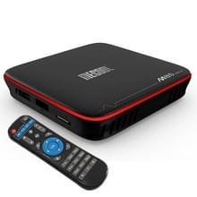 MECOOL M8S PRO W 4K HD Smart Android 7.1 OS Amlogic SoC Quad Core ARM Cortex-A53 TV Box met IR afstandsbediening Controller  RAM-geheugen: 2GB  ROM: 16GB  steun WiFi & HDMI & LAN & OTA & TF kaart (maximaal 32GB)