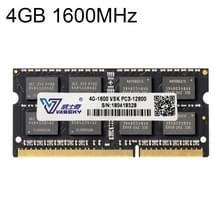 Vaseky 4 GB 1600 MHz PC3-12800 DDR3 PC RAM-geheugenmodule voor Laptop