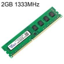 Vaseky 2 GB 1333 MHz PC3-10600 DDR3 PC geheugen RAM-Module voor Desktop