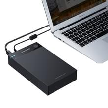 UGREEN US222 HDD behuizing 2.5 / 3.5 inch SATA naar USB 3.0 SSD Adapter Hard Disk Drive vak Externe HDD hoes steun UASP Protocol