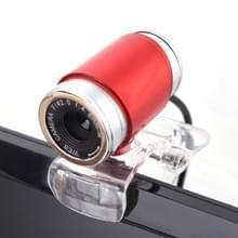 HXSJ A860 30fps 12 Megapixel 480P HD webcam voor desktop/laptop  met 10m geluidsabsorberende microfoon  lengte: 1.4 m (rood)