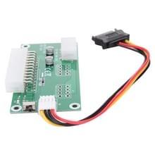 PC Desktop ATX 24-pin dubbele PSU Power kaart Adapter met SATA verlengkabel & handmatige schakelaar en synchroon starten  met uitgebreide Ded voor Bitcoin Mining