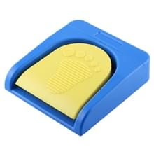 FS2016BT1 PCsensor Bluetooth USB één voet schakelaar één controltoets aangepast Computer Keyboard actie Pedal(Blue)