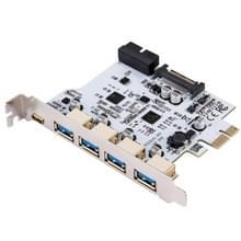 USB 3.0 type-C/USB-C front riser kaart dual core desktop computer moederbord (wit)