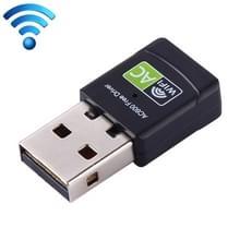 AC600Mbps 2.4GHz & 5GHz Dual-Band USB 2.0 WiFi gratis Drive Adapter externe netwerkkaart