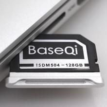 BASEQI 504MSV 128GB aluminium legering micro SD (TF) geheugenkaart voor MacBook Pro Retina 15 inch (einde van 2013-After) laptops