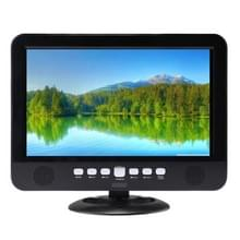 NS-1001 10.1 duim TFT LCD analoge Multimedia Portable TV videospeler  steun TF kaart / USB Flash Drive / FM