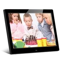 HSD-P520 10.1 inch LCD Display Digital Photo Frame with Holder & Remote Control  Support USB / SD Card Input  Built in Stereo Speaker  EU/US/UK Plug(Black)