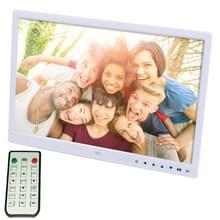 15.0 inch LED Display Digital Photo Frame with Holder / Remote Control  Allwinner  Support USB / SD Card Input / OTG(White)