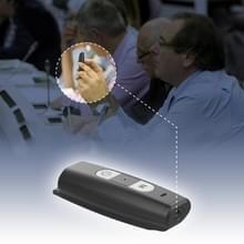 T195 1080P HD draagbare recorder handheld DV DC  ondersteuning TF kaart (zwart)