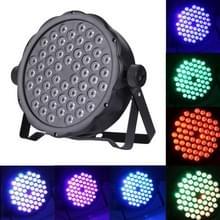 3W x 54 LED PAR licht fase licht met LED-Display  Master / Slave / DMX512 / Run / geluid controle Auto modi  VS / EU Plug