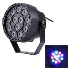 KD-12W 12 LED PAR Light Stage Light  met LED Display  Master / Slave / DMX512 / Auto Run Modes  EU Plug