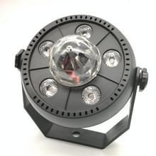 11W 5 LED's Kleurrijke Roterende Magic Ball LED PAR Licht