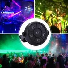 3W kleurrijke LED PAR licht  6 LED's automatisch uitvoeren / Sound Control fase LED licht  85-260V AC  VS / EU Plug