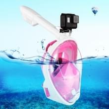 PULUZ 240mm Fold buis watersport apparatuur volledig droog Snorkel duikbril voor  GoPro HERO 7 / 6 / 5 / 5 session / 4 session / 4 / 3+/ 3 / 2 / 1    Xiaoyi en andere actie camera's  S/M Size(Pink)